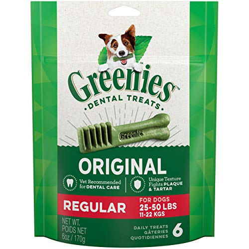 GREENIES Original Regular Natural Dental Care Dog...