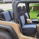 Best Neoprene Seat Covers - GEARFLAG Neoprene Seat Cover Custom fits Wrangler TJ Review