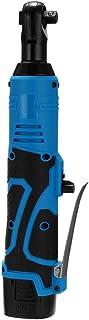 NOBGP 3/8'kabelloser elektrischer Ratschenschlüssel mit 18 V Lithium Ionen Akku, LED Licht   Geräuscharm Bedienungsfreundlich   Geeignet für Garage, Baustelle