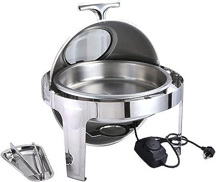 Aprilhp Calentador de Alimentos, Chafing Dish Calentadores de ...