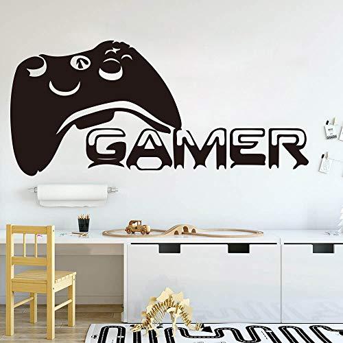 3D Zoo muur Stickers Thema Muursticker Grote Gamer Controller Spelen Spelers Speeltijd Xbox 360 Ps Game 92X42 Cm