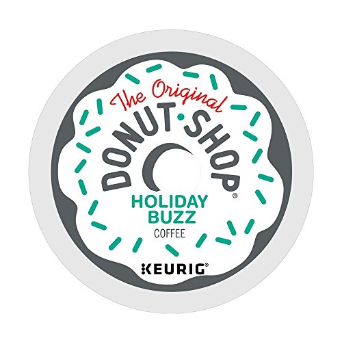 The Original Donut Shop Holiday Buzz Coffee, Single-Serve K-Cup Pods, 96 Count