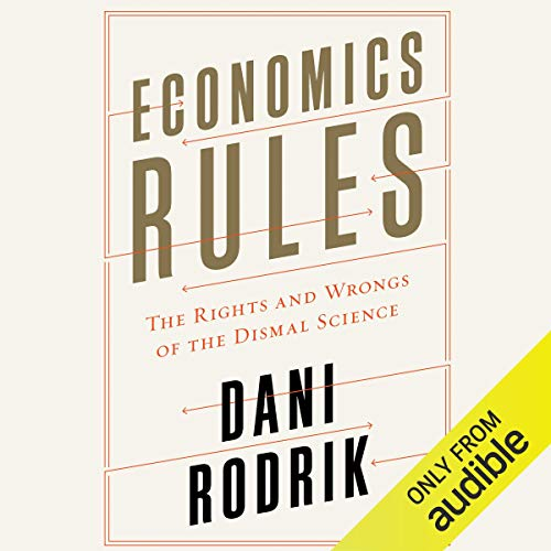 Economics Rules audiobook cover art