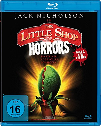 The little Shop of Horrors  (Farb- und S/W-Version) [Alemania] [Blu-ray]