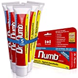 5 Tubes of Dr. Numb Maximum Topical Anesthetic Anorectal Cream, Lidocaine 5% ~ Net Wt 1 Oz...