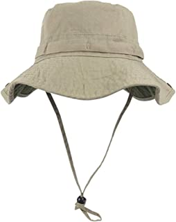 Bucket Hat Wide Brim UV Protection Sun Hat Boonie Hats Fishing Hiking Safari Outdoor Hats for Men and Women