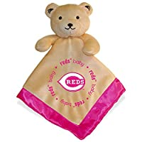 Baby Fanatic Pink Security Bear Blanket, Cincinnati Reds by Baby Fanatic