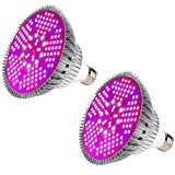 [Pack of 2]100W Led Plant Grow Light Bulb, Full Spectrum 150 LEDs...