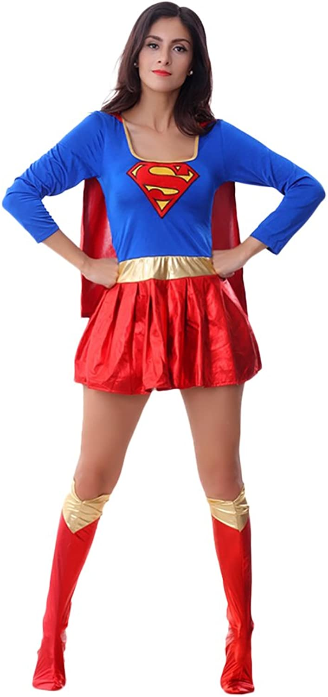 Amurleopard Damen Supergirl Kostüm