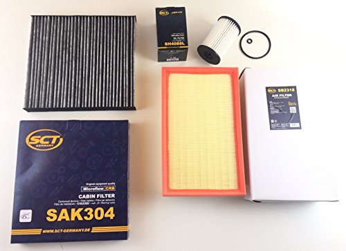 Oliefilter luchtfilter actieve koolfilter Golf 7 VII 1.6 TDI 2.0 TDI 2.0 GTD Diesel