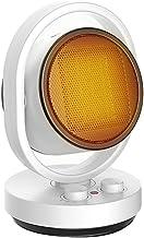 AGLZWY Calentador Radiador De Escritorio Bajo Consumo Calefacción Protección contra Vuelcos Y Sobrecalentamiento para Cocina Habitación Baño Garaje (Color : White-1500W)