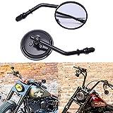 Specchietto Moto Retrovisore M8 8mm Il giro Specchietti laterali per Sportster 1200 Street Glide