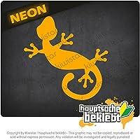 ゲッコ Gecko 10cm x 10cm 15色 - ネオン+クロム! ステッカービニールオートバイ