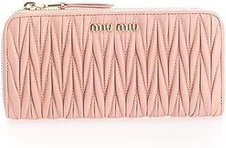 Luxury Fashion | Miu Miu Womens 5ML506N88F0615 Pink Wallet | Fall Winter 19