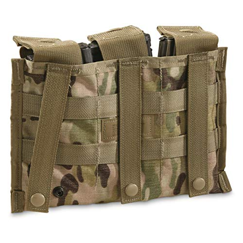 Official US Mil OCP MOLLE II Triple Mag 30 Round Pouch
