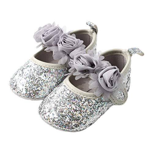 Toyvian 1 par de Zapatos de Baile de Ballet con cordón para...
