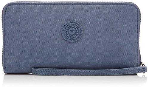 Kipling Damen Alia Geldbörse, Blau (Timid Blue C), 2x19x10 cm