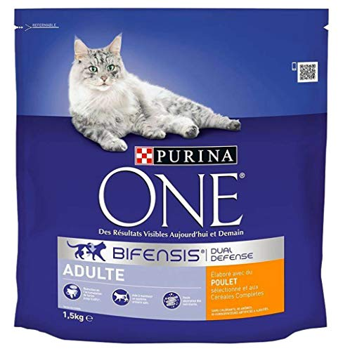 PURINA ONE Dry Cat Adult Chicken 1,5 kg (3-er Pack) 1