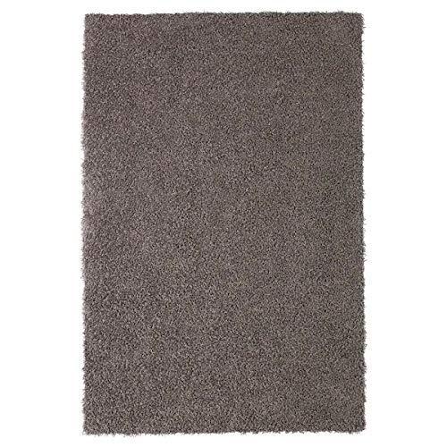 SDSA Langfloriger Teppich Aus Polypropylenfaser, Beige, Ohne rutschfeste Matte 120 * 180 cm