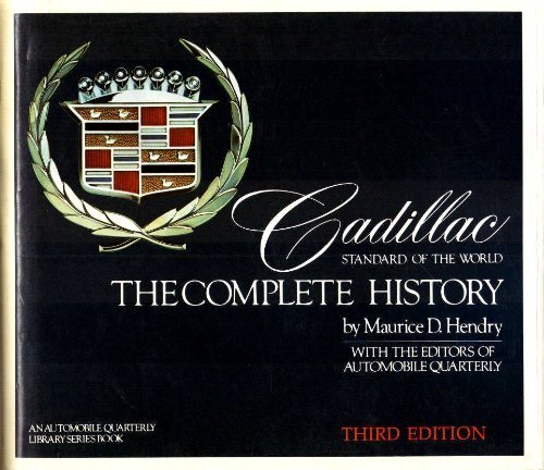 Cadillac: Standard Of The World (An Automobile quarterly library series book)