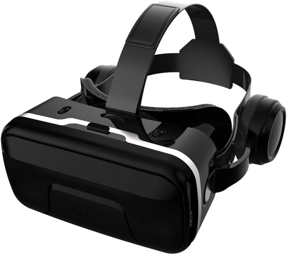 IOIOA Virtual Reality Glasses, 3D VR Game Headset Helmet Virtual Reality Headsets for 4.7-6.0 Inch Mobile Phone