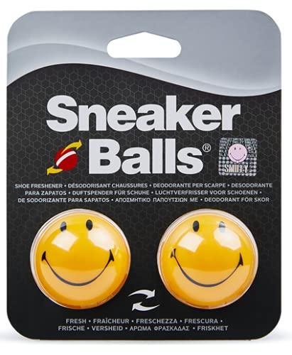Sof Sole SofSole SneakerBalls HappyFace Shoe Deo Deodorants, Yellow...