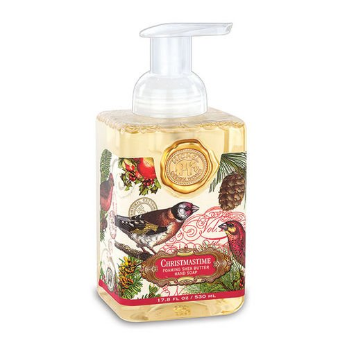 Michel Design Works Foaming Hand Soap, Christmastime, 17.8 Fluid Ounce