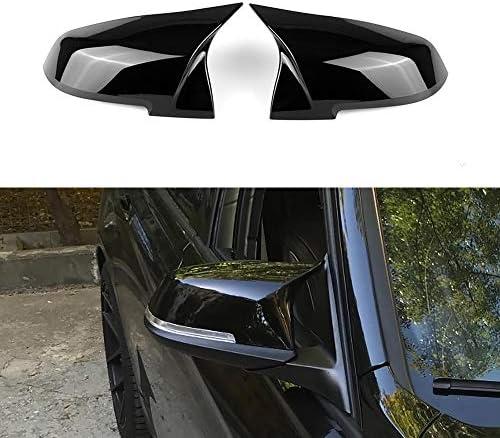 Black Left Passenger Side Wing Mirror Cover Aftermarket 388-RNC184-6453