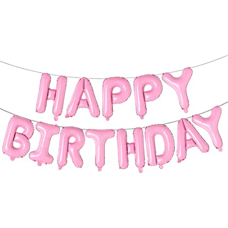 Details about  /16 Air No odor Happy Birthday Balloons Foil Party Banner Decorations UK