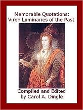 Memorable Quotations: Virgo Luminaries of the Past