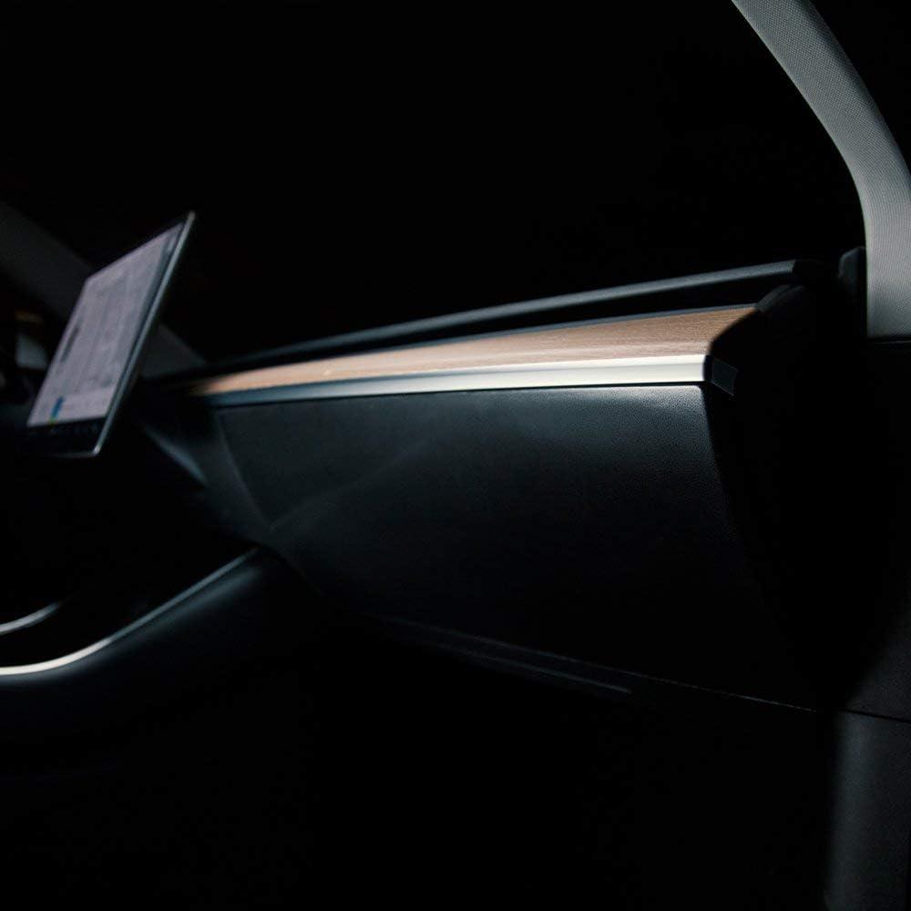 TESBROS Tesla Model Y and Protection Glovebox Kit Virginia Beach Mall Wrap Mail order 3