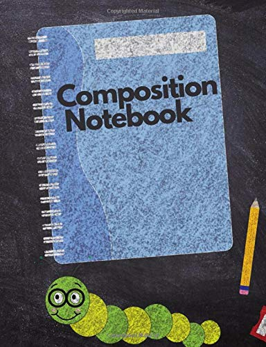 Composition Notebook College Ruled: 7.44 x 9.69 Inch 120 Pages Go Back to School Composition Book for Teachers, Students, Kids, and Teens Paperback