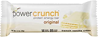 Bulk Pack Protein Bars (Power Crunch, French Vanilla Créme, 12-Pack)