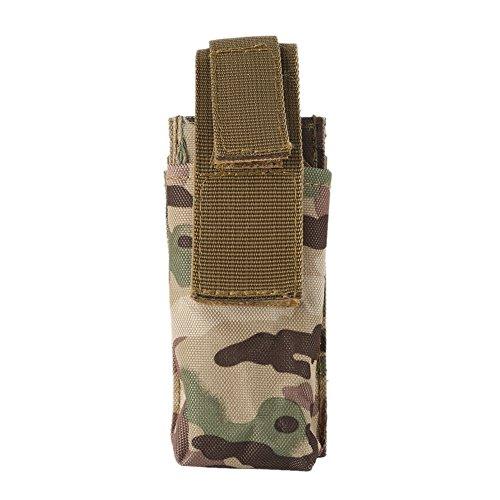 Reefa Durable Portable Molle EMT Pochette à Ciseaux 600D Nylon Sac à Couteaux Pochette