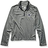 NFL Dallas Cowboys Youth Aries Quarter Zip, Gray, X-Large