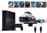 PlayStation VR Start Bundle10 Items:VR Start Bundle,PS4,7 VR Game Disc PSVR Until Dawn: Rush of Blood,PSVR EVE: Valkyrie,PSVR Battlezone,Batman: Arkham VR, PSVR DriveClub,PSVR Battlezone