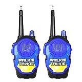 Xshuai 2Pcs Wireless Walkie Talkie Kinder elektronische Spielzeug tragbare Funkgerät (Blau)