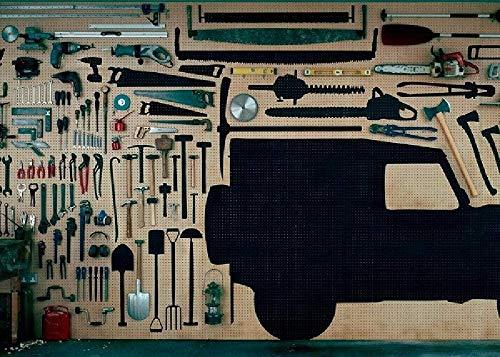 mqlerry Puzzle 1000 Teile Erwachsene Kinderpuzzle Holzpuzzle Klassisches 3D Puzzle Geräteschuppen Collectibles Moderne Wohnkultur Kreatives Geschenk
