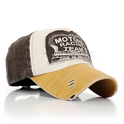 Bobury Sombrero Ajustable de algodón de Golf de Moda Gorras Vintage