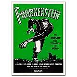 LaMAGLIERIA Hochqualitatives Poster - Frankenstein Vintage