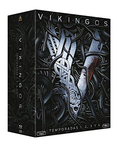 Pack Vikingos - Temporadas 1 a 4 [Blu-ray]