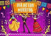 DIY 数字油絵 メキシコのお祭りの漫画 ンバスの油絵 大人の子供用ギフト 数字キットでペイント ホ ムデコレ ション 40x50cm