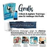 """Sportastisch Schwimmbrille """"ProSwim"""" mit auswechselbar Nasensteg (3 STK.) für Wasserdichten & individuellen, Bonus E-Book & bis zu 3 Jahren Garantie mit SPITZENSPORTLER EMPFEHLUNG* - 4"""