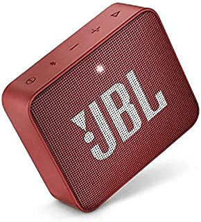 JBL GO2-RD/99 Portable Wireless Bluetooth Speaker - Ruby Red