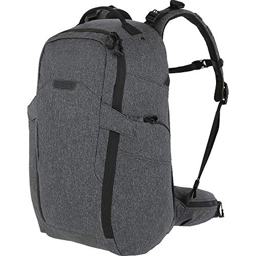 Maxpedition Entity 35 CCW-fähiger Rucksack mit internem Rahmen, 35 l, Unisex-Erwachsene, Rucksack, Entity 35™ CCW-Enabled Internal Frame Backpack 35L (Charcoal), anthrazit, Einheitsgröße