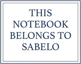 This Notebook Belongs to Sabelo