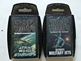Top Trumps (Military Packs 2 of 4 Star Wars Starships and Military Jets (2 Pack)