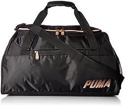 PUMA Evercat No. 1 Logo Duffel Bag, black/gold, OS