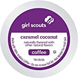 Girl Scout Coffee Single Serve Pods for Keurig KCup Brewers, Caramel Coconut, 72 Count
