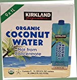 Kirkland Signature Kirkland Signature Organic Coconut Water 9/33.8 Fl Oz Net Wt 304.3 FL Oz, 304.3 fl. oz. - SET OF 2